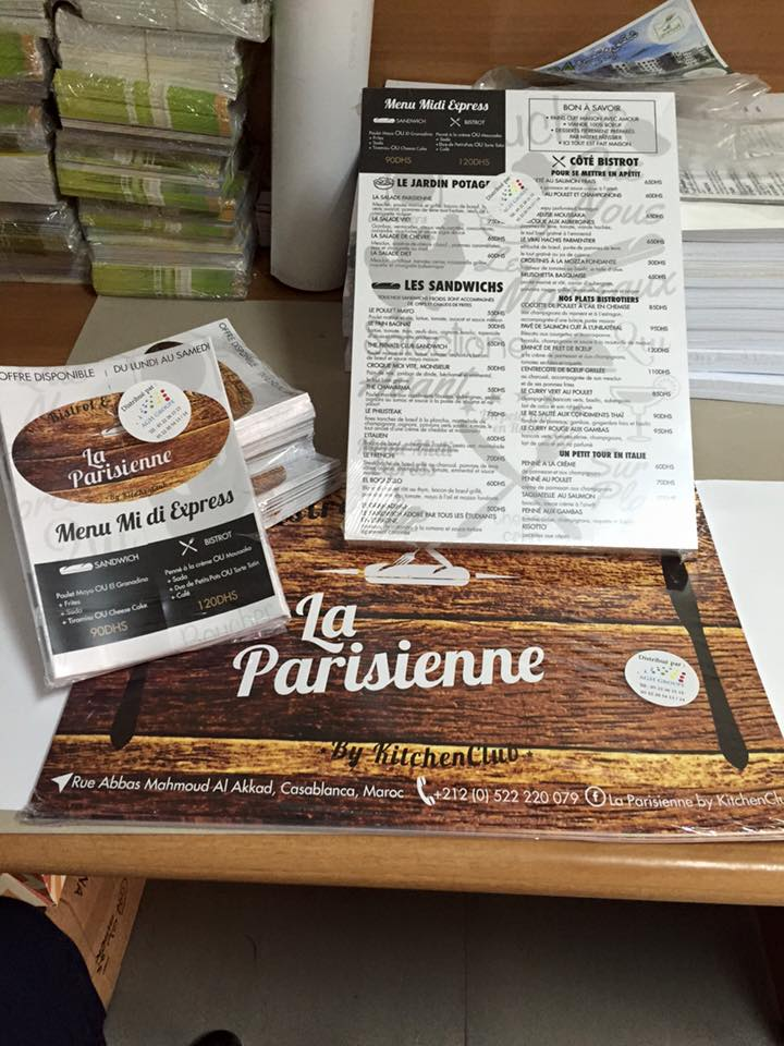 flyers parisienne